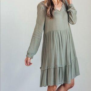 Dresses & Skirts - Poppy & Dot Harvey BohO Dress, sage green